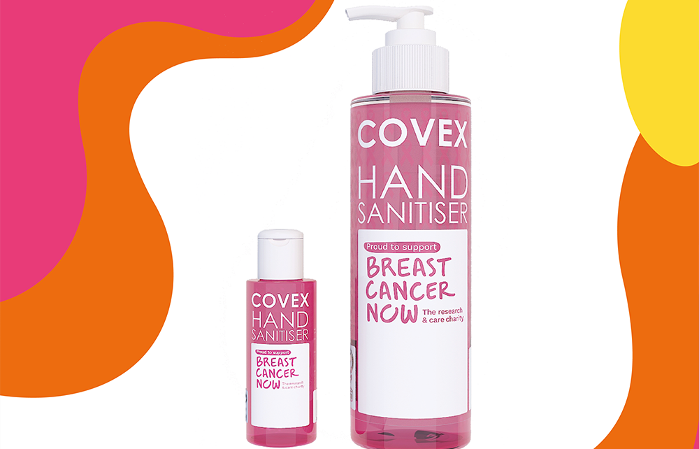 SUPPORTING BREAST CANCER NOW - ONE HAND WASH AT A TIME